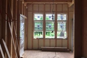 新座の家 木工事